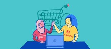 Suami Istri Kreatif Pendiri HijUp dan Bukalapak: Diajeng Lestari & Achmad Zaky