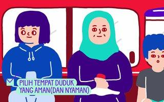 Tips Aman di Jalan Ala Febby