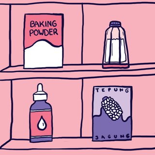 Buat Dry Shampoo-mu Sendiri!