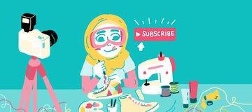 5 YouTuber Cewek Keren untuk Kamu yang Lagi Nyari Inspirasi Baru