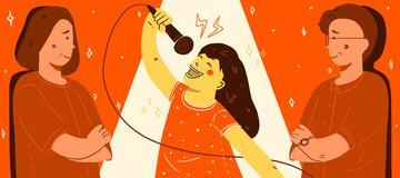 Gak Ada Yang Bisa Hentikan Nyanyianku!