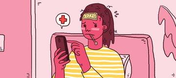 Kata Internet Kamu Sakit?! Jangan Asal Diagnosa Diri Sendiri!