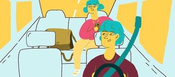Yang Boleh dan Nggak Boleh dilakukan Saat Naik Transportasi Online