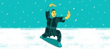 Berlatih Wushu di Gunung Bersalju bersama Sima Azimi