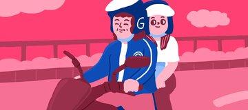 Aku Belajar Banyak Dari Driver Ojek Perempuan